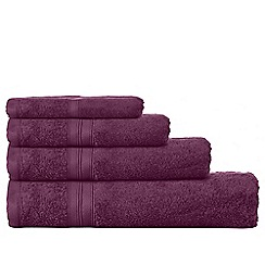 Home Collection - Dark purple Egyptian cotton towels