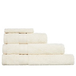 Home Collection - Cream Egyptian cotton towels
