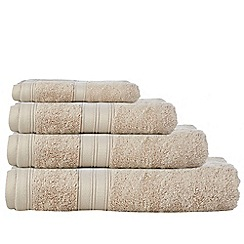 Home Collection - Taupe Egyptian cotton towels
