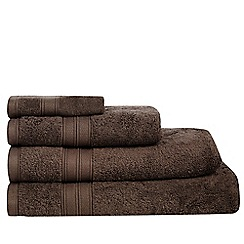 Home Collection - Chocolate brown Egyptian cotton towels