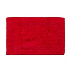 Home Collection - Dark red reversible bathroom mat