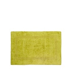 Home Collection - Green reversible cotton bathmat