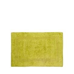 Home Collection - Green reversible cotton bathmat