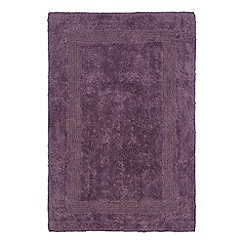 Home Collection - Mauve reversible bath mat