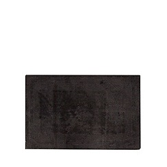 Home Collection - Black reversible bath mat