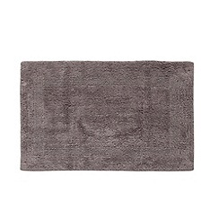 Home Collection - Dark grey reversible bath mat