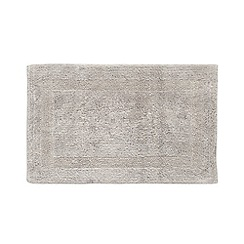 Home Collection - Silver reversible luxury cotton bathmat