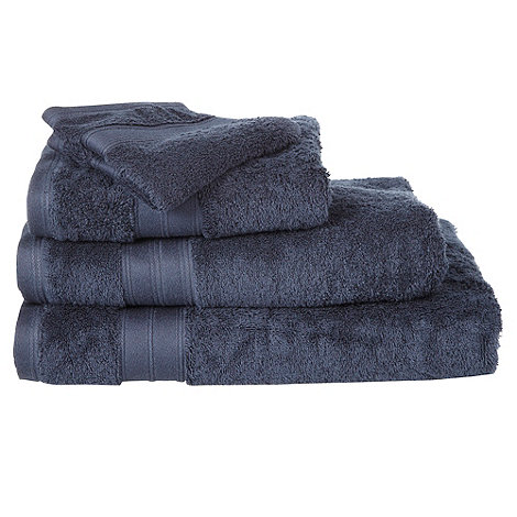 Home Collection - Navy Egyptian cotton towels