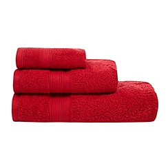 Home Collection - Dark red Egyptian cotton towel