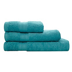 Home Collection - Bright turquoise Egyptian cotton towel