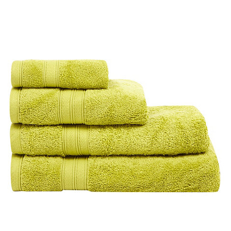Home Collection - Light green Egyptian cotton towel