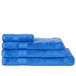 Home Collection - Royal blue Egyptian cotton towel