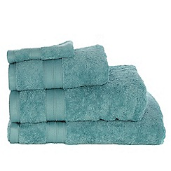 Home Collection - Light blue Egyptian cotton towel