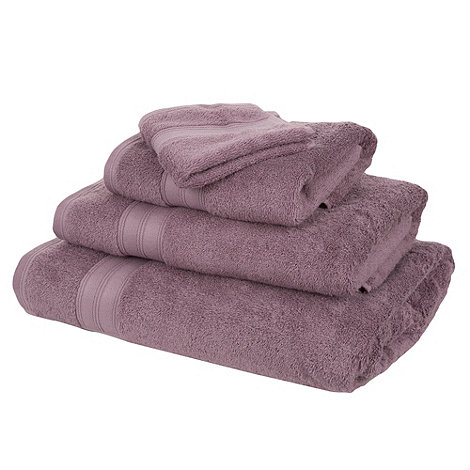 Home Collection - Mauve Egyptian cotton towel