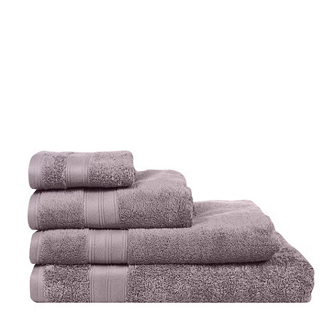 Home Collection - Grey Egyptian cotton towel