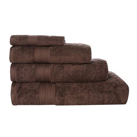 Home Collection - Brown Egyptian cotton towel
