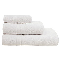 Debenhams - White egyptian cotton towel