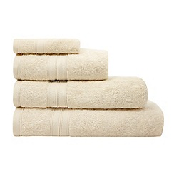 Home Collection - Cream Egyptian cotton towel