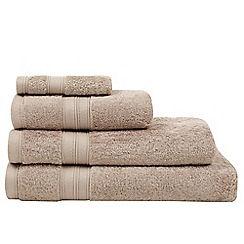 Home Collection - Taupe Egyptian cotton towel