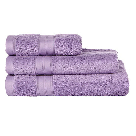 Home Collection - Mauve Egyptian cotton towels