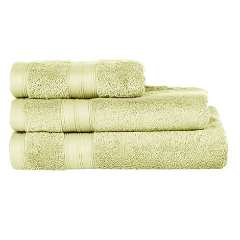 Home Collection - Lime green Egyptian cotton towels