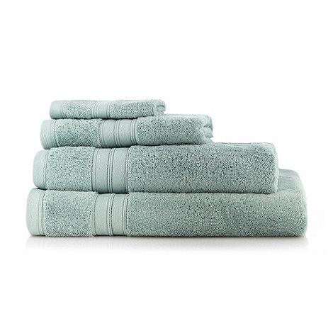 Home Collection - Aqua Egyptian cotton towels