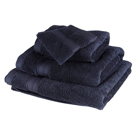 Home Collection - Navy Egyptian cotton towel
