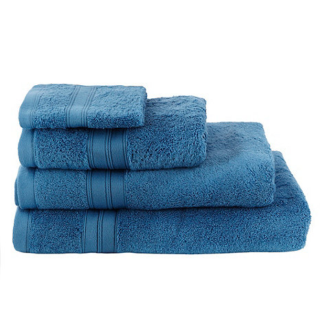 Home Collection - Blue Egyptian cotton towels