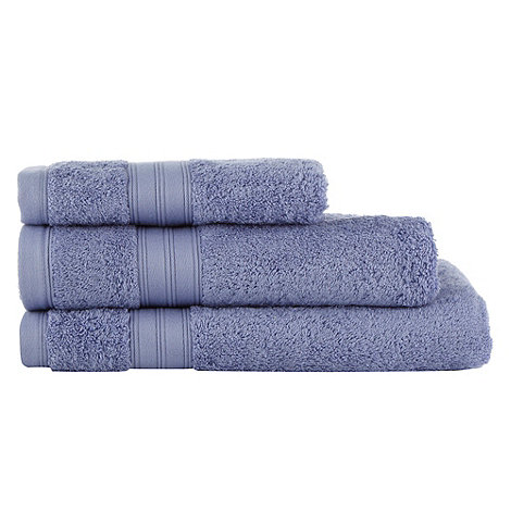 Home Collection - Mid blue Egyptian cotton towels