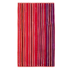 Butterfly Home by Matthew Williamson - Pink thin striped beach towel