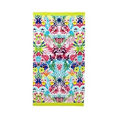 Butterfly Home by Matthew Williamson - Multi-coloured tropical print beach towel