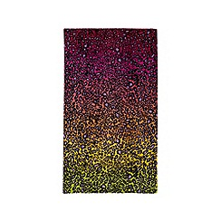 Star by Julien MacDonald - Multi-coloured animal print beach towel