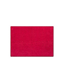 Home Collection Basics - Pink microfibre bobble bath mat