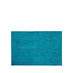 Home Collection Basics - Bright turquoise bath mat