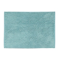 Home Collection Basics - Light blue bobble textured bath mat