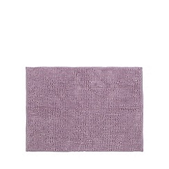 Home Collection Basics - Mauve microfibre bobble mat
