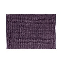 Home Collection Basics - Purple bobble textured bath mat