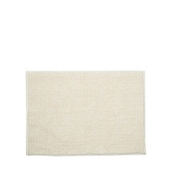 Home Collection Basics - Cream bobble textured bath mat