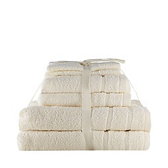 Home Collection Basics - Cream super-soft cotton towel bale