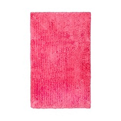Home Collection Basics - Bright pink microfibre bathmat