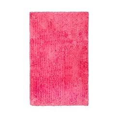 Home Collection Basics - Bright pink microfibre bathmat