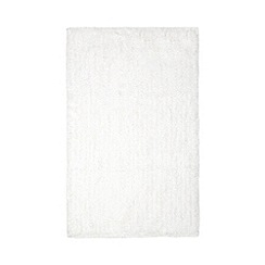Home Collection Basics - White microfibre bathmat