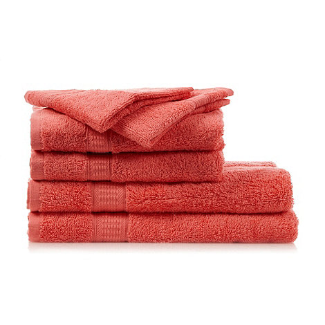 Home Collection Basics - Coral super-soft cotton towel bale