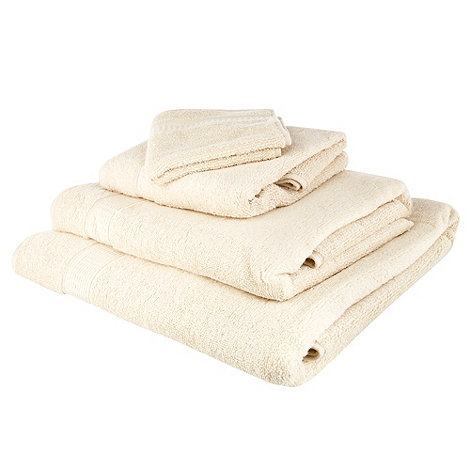 Home Collection Basics - Cream +Super-soft+ cotton towels