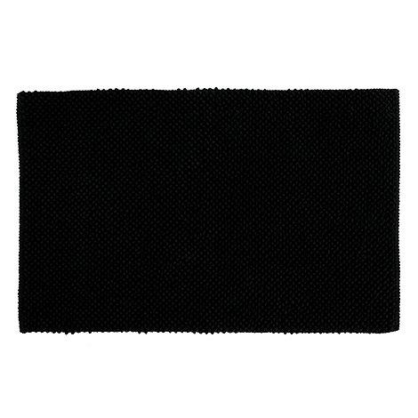 Home Collection Basics - Black bobble bath mat