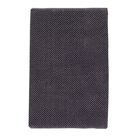 Home Collection Basics - Grey small bobble bath mat