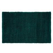 Dark green bobble bath mat