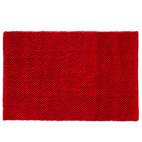 Home Collection Basics - Dark rose bobble bath mat