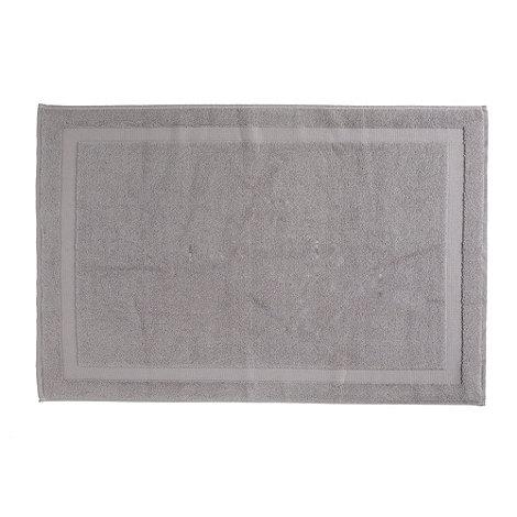 J by Jasper Conran - Silver supima bath mat