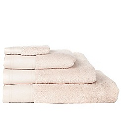 J by Jasper Conran - Pale pink 'Pima' cotton towels
